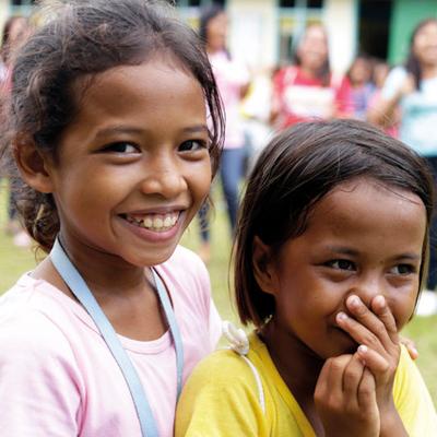 Kinder in den Philippinen
