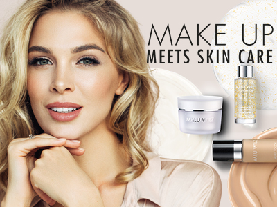 junge Frau mit Kosmetik